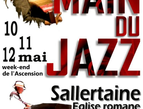 Festival la Main du Jazz les 10, 11 et 12 mai à Sallertaine